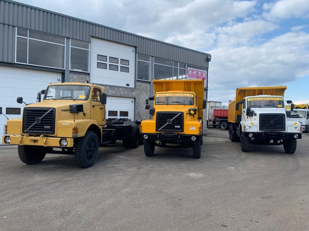Volvo N10 in 6x4 and 6x6 - Cargo - Tipper - Hook - Box | CAB Trucks [5]