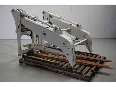 CASCADE PIPE CLAMP WITH FORKS CAPACITY 8500KG FEM5A 80R-FPS-0101 PHD | Brabant AG Industrie [3]