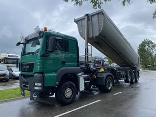 man-tgs-18440-4x4-manual-meiller-isolated-tipper-trailer-2015-year