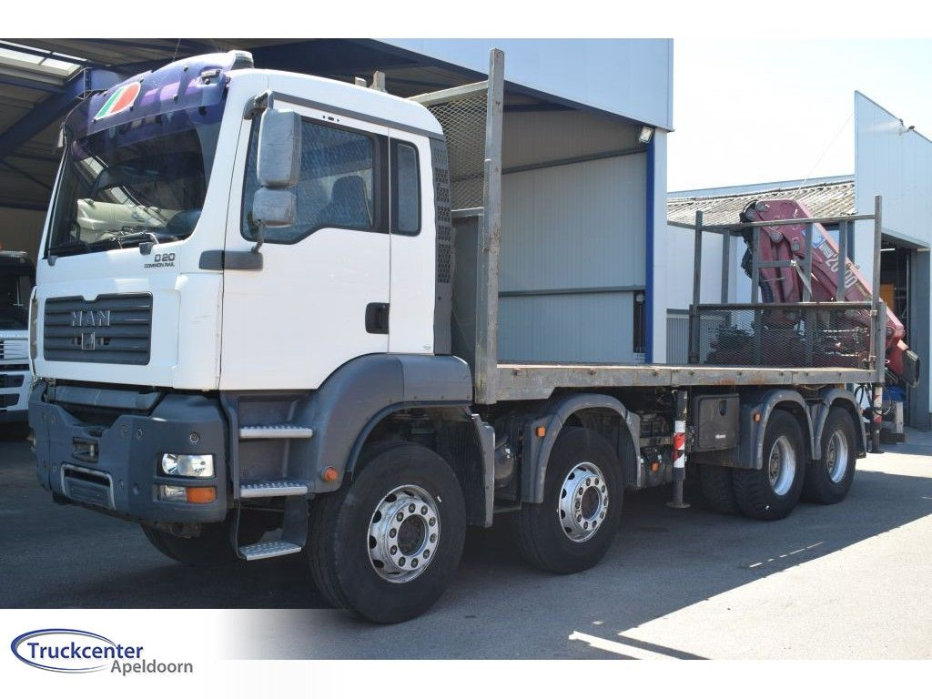 MAN 8x4 Full Steel , HMF 2003 K3, Manuel, Truckcenter Apeldoorn | Truckcenter Apeldoorn [3]